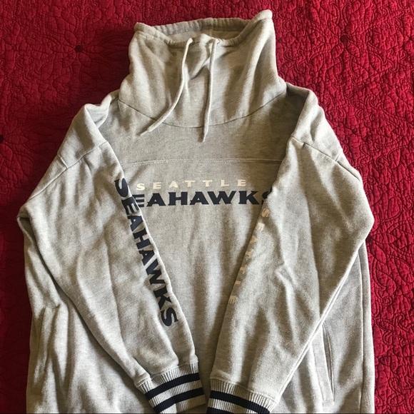 Seattle Seahawks cowl neck sweatshirt